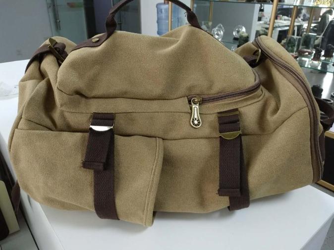中国重汽定制帆布背包
