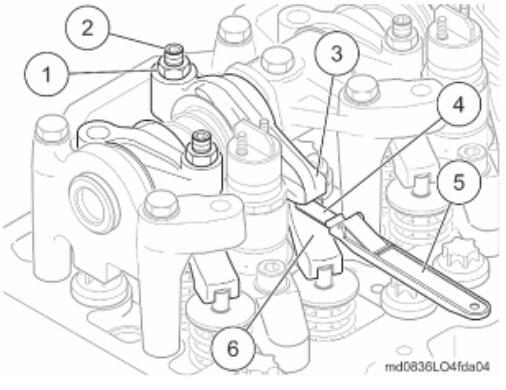 MC07国五发动机调整/检查气门间隙方法